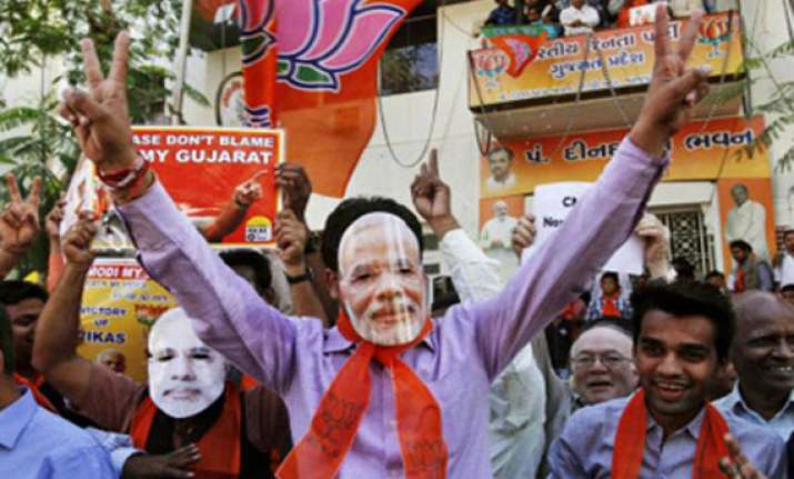 12.6 per cent swing helps bjp knock out congress in gujarat