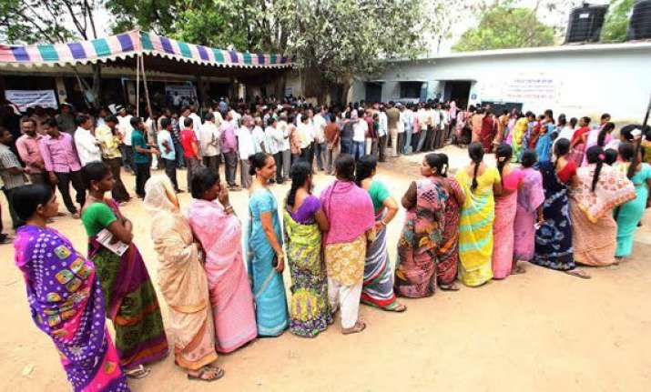 72 per cent turn out in telangana poll largely peaceful