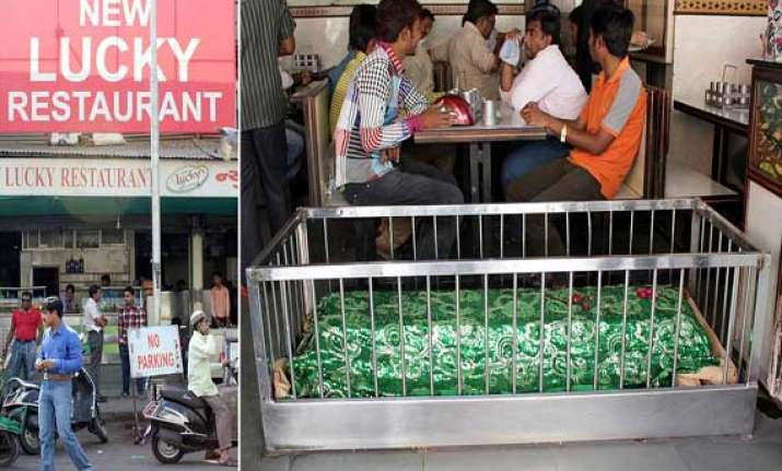 a restaurant in ahmedabad where people dine with the dead
