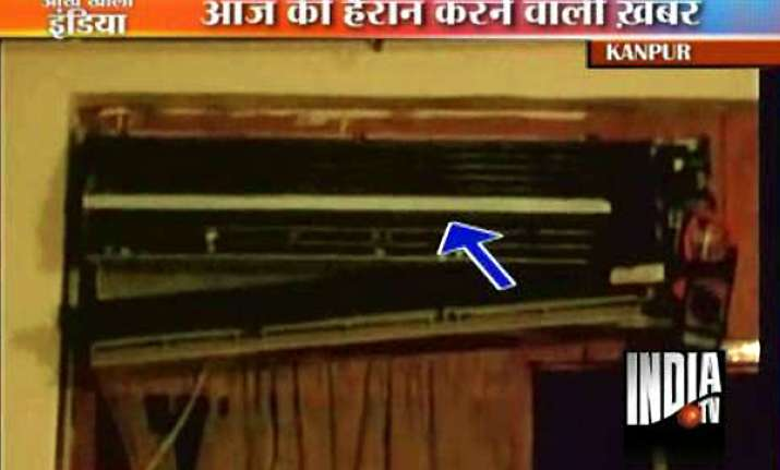 ac explodes in kanpur mechanic killed