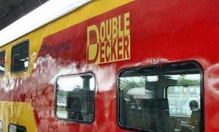 ac double decker train on delhi chandigarh route soon