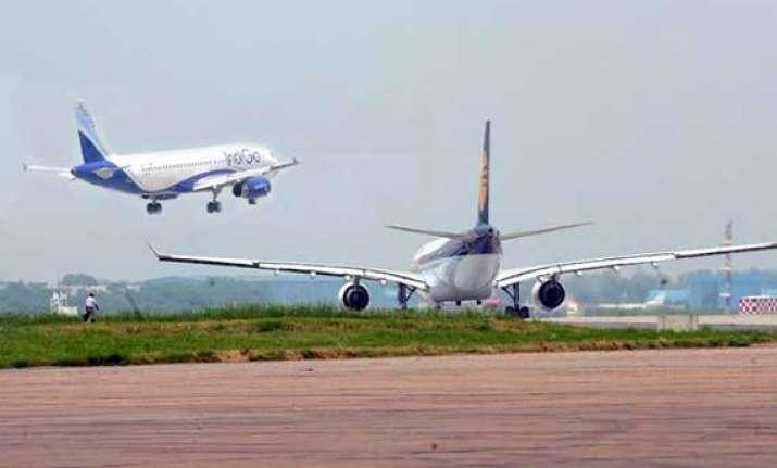 ai indigo flights come close to collision