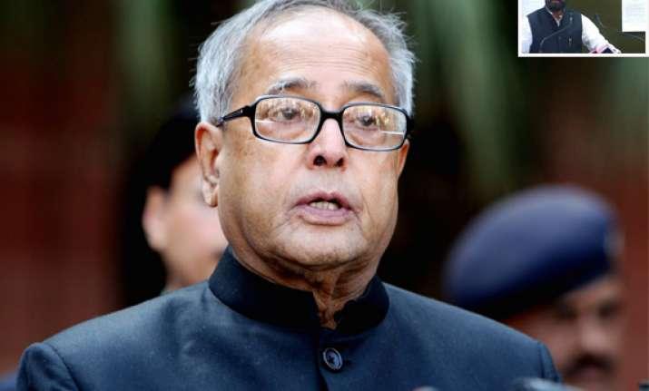 aicc decides manoj may quit as minister says pranab