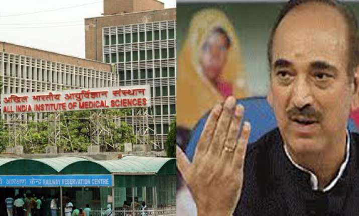 6 aiims like institutes to be functional by end of 2014 azad