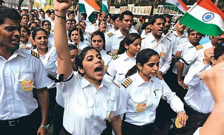 ai pilots to go on indefinite hunger strike from sunday