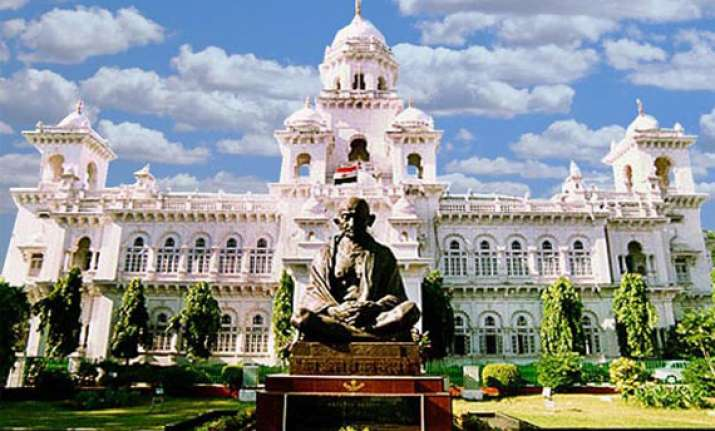 ap assembly adjourned thrice as oppn disrupts proceedings