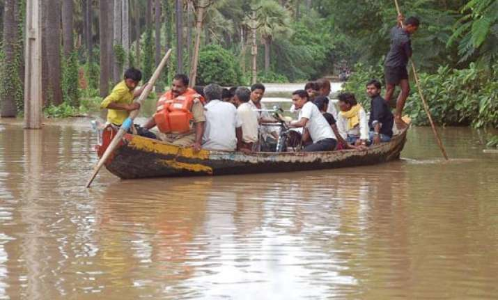 ap floods choppers brought in for rescue relief in marooned