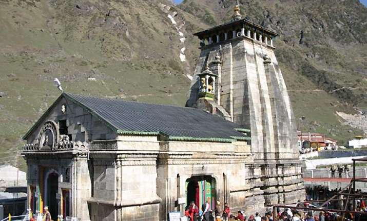 asi suggests change in river course to protect kedarnath