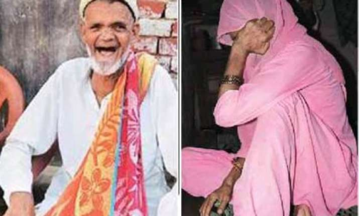 abandoned by sons 90 year old meerut man marries 80 year