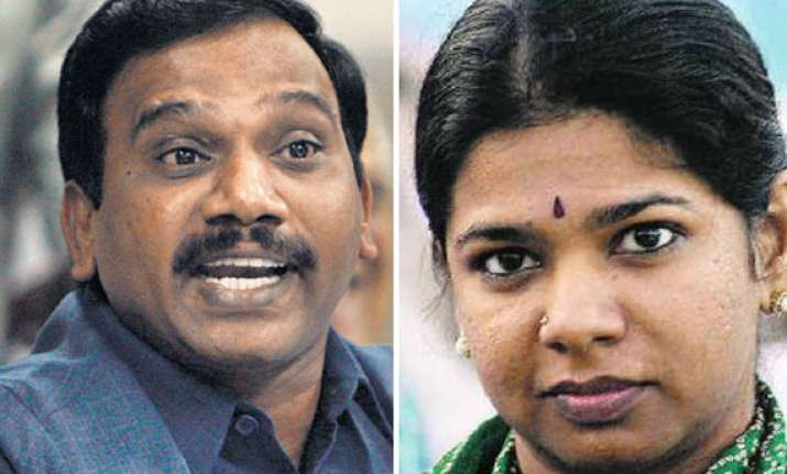 accused raja kanimozhi others summoned in laundering case