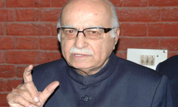calling spade a spade advani on manmohan weakest pm