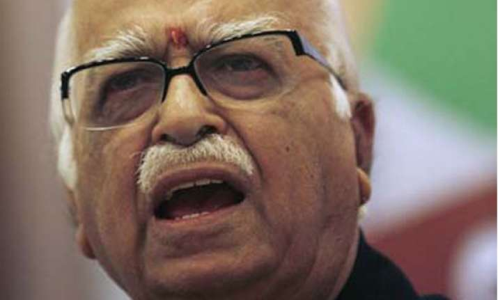 advani lauds ec for scrapping jharkhand rs poll
