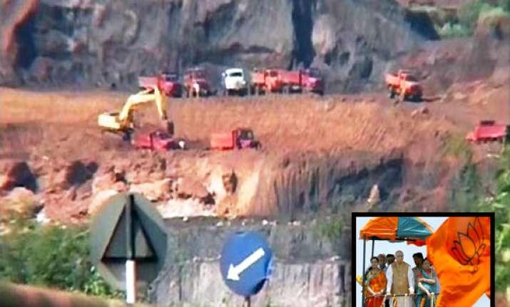 advani yatra will have illegal mining on agenda in goa