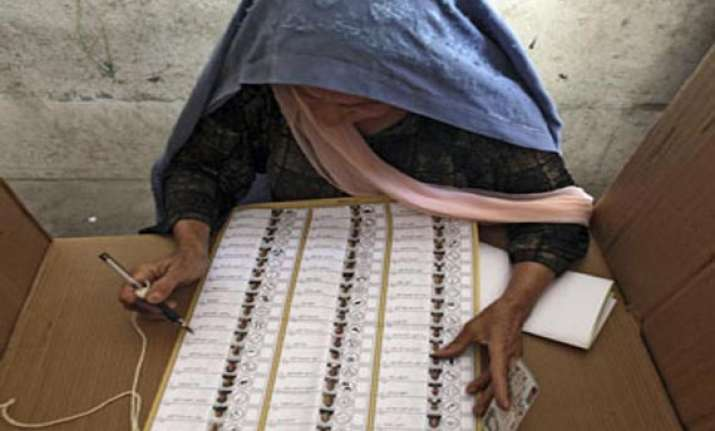 afghan polls turnout resounding rejection of terrorist