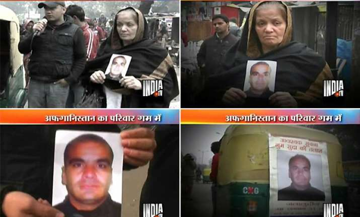 afghan family s desperate search for missing son in delhi