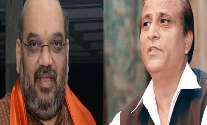 after ban on campaign ec censures amit shah azam khan for