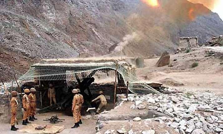 after 14 years pak troops violate ceasefire in kargil area