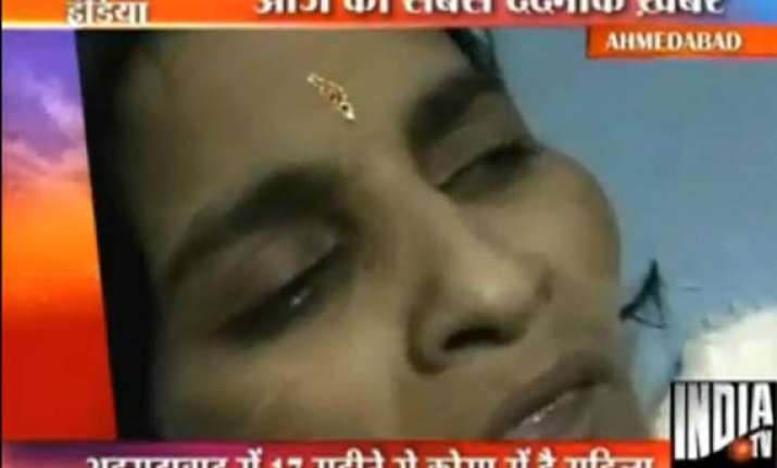 ahmedabad woman in coma for last 17 months due to heavy