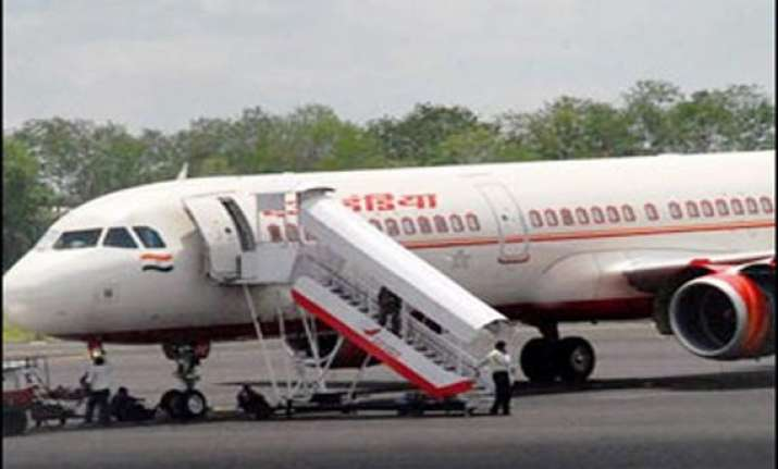 air india plane makes emergency landing in nagpur after