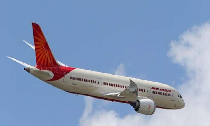 air india plane runs into slush at bagdogra passengers safe