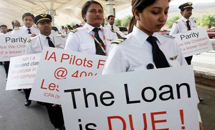 air india pilots threaten strike on nov 30