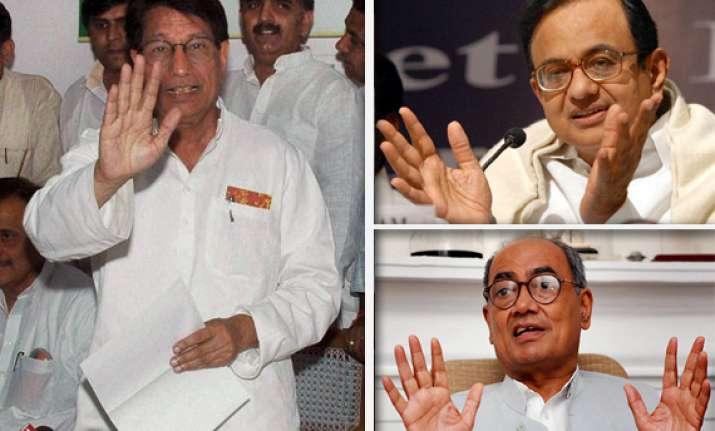 ajit singh meets chidambaram demands reservation for jats