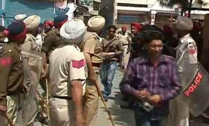akali leader s nephew beats homeguard tears his uniform in