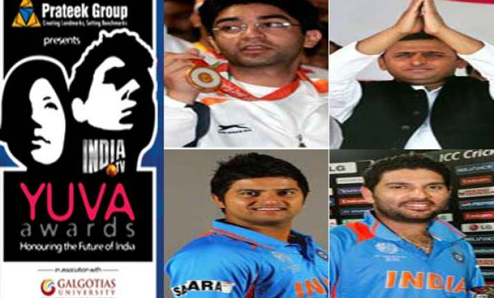 india tv yuva awards to honour youth icons tonight