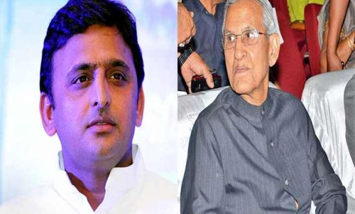 akhilesh meets governor discusses action taken in badaun