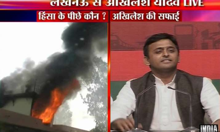 akhilesh says bsp regime officials trying to defame sp for