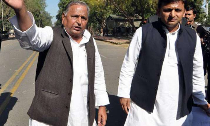 akhilesh says mulayam will be cm if sp is voted to power