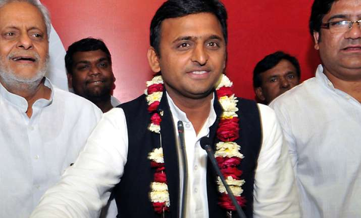 akhilesh to take oath as uttar pradesh cm on thursday