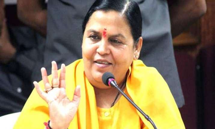 all rivers as divine as ganga says uma bharti