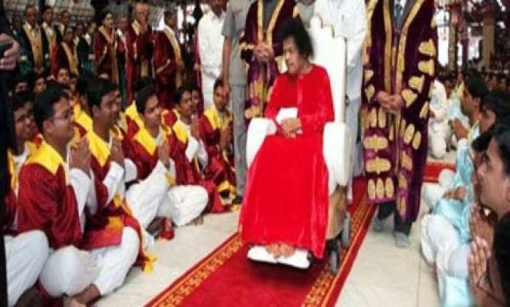 all eyes on 7 key members of sathya sai trust