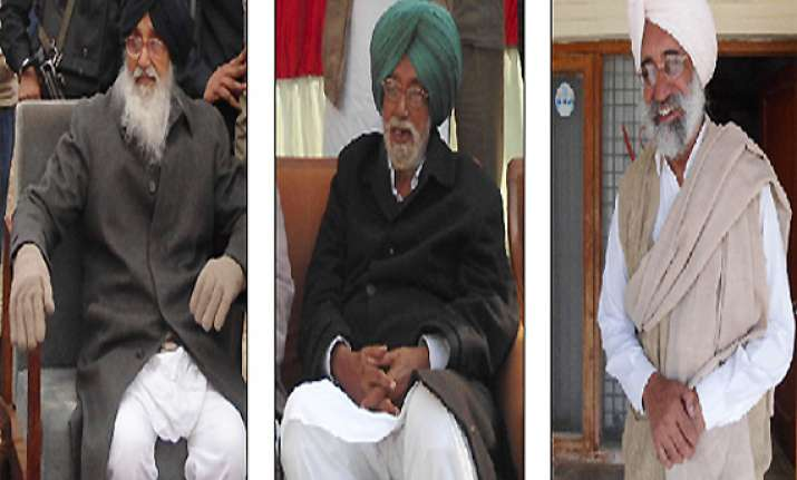 all three badal brothers locked in poll combat in punjab