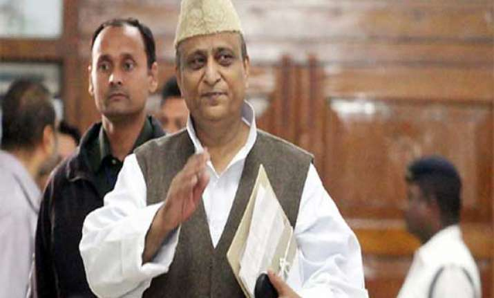 allah has punished rajiv and sanjay gandhi says azam khan
