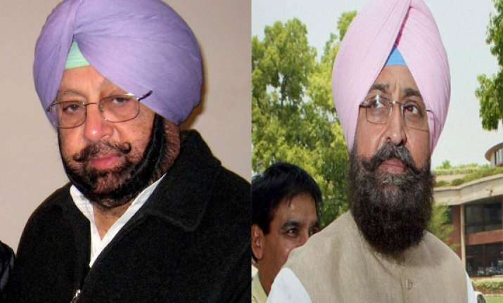 amarinder accuses bajwa of sabotaging his poll campaign