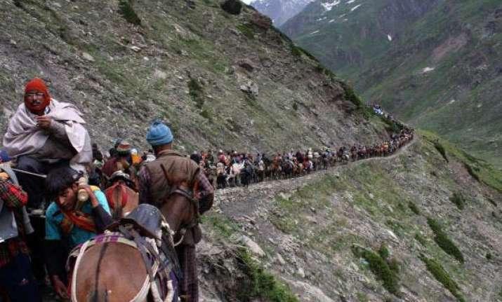 amarnath yatra from pahalgam route resumes