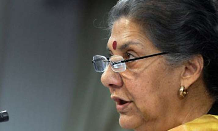 ambika soni hints at bringing law to regulate tv channel