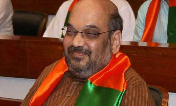 amit shah booked in two more cases by up police
