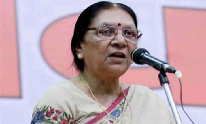 anandiben patel announces relief measures for kutch