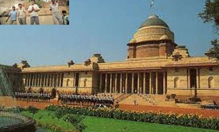and now rashtrapati bhavan becomes target of sonepat