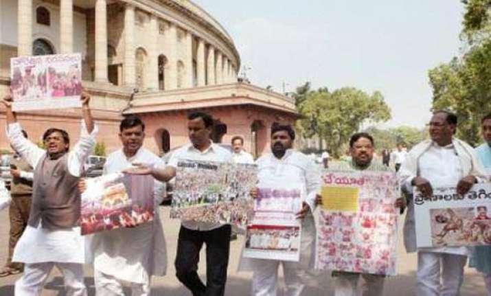 andhra congress legislator quits over telangana