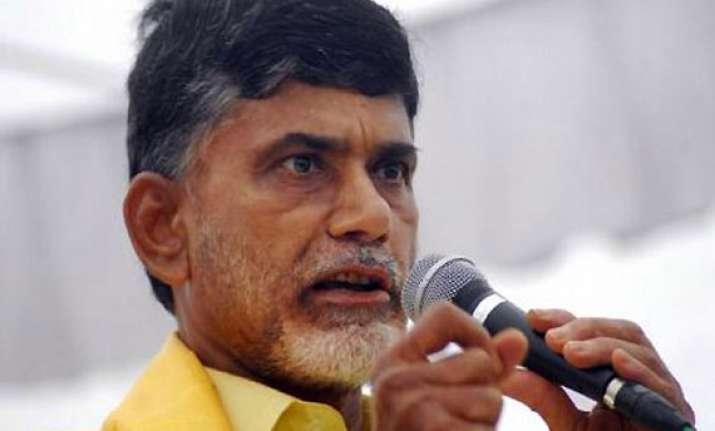 telangana fallout naidu to sit on indefinite hunger strike