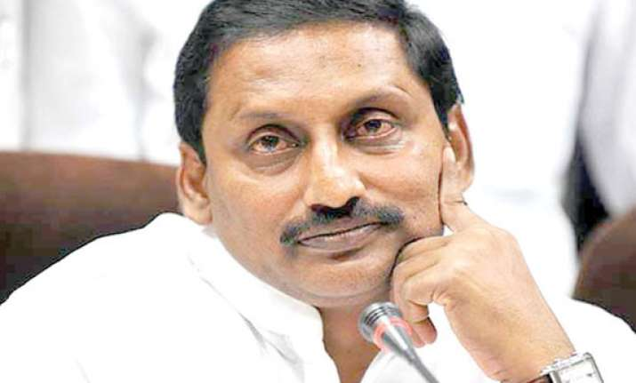 kiran reddy to resign tomorrow says minister