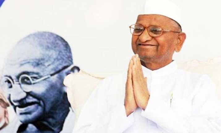 anna hazare decides to go on maun vrat from sunday
