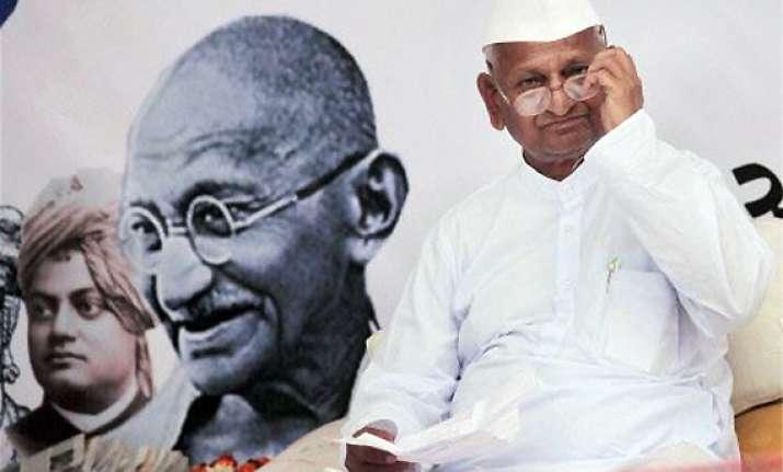 anna hazare may end maun vrat in 3 4 days