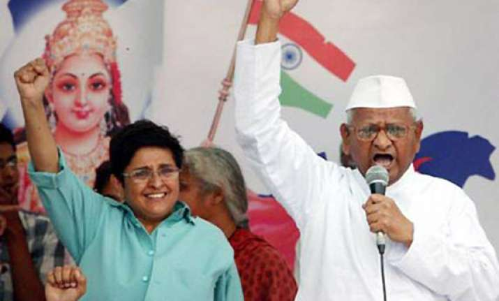 anna hazare may watch lokpal bill proceedings from viewers