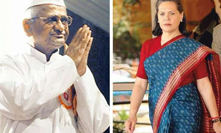 anna hazare writes to sonia on smear campaign