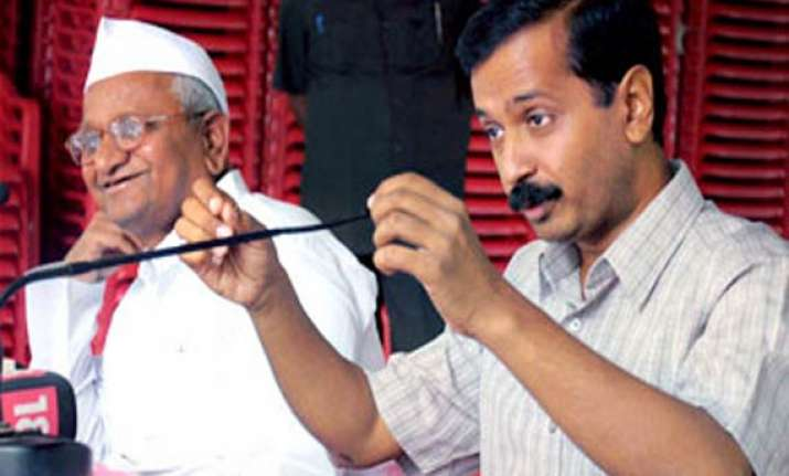anna is above parliament can pressurise it says arvind